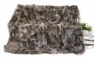 Echtfell Lammfelldecke charcoal 200 x 155 cm Toscana Lammfell