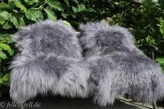 Icelandic Sheepskin Lambskin Grey dyed
