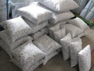 Kissen Inlet aus Schaumstoffflocken 35 x 35 cm passend für unsere Tibetfell  Kissen 30 x 30 cm