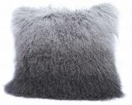 Tibet Lammfell Kissen Hülle Grey Gradient Grey Gradient 60 x 40 cm Grey Gradient | 60 x 40 cm