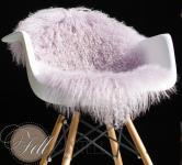 Tibet Lammfell Lavender Fog Tibetlammfell Tibetlamm Flieder 90 x 45 cm 90 x 45 cm