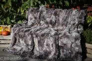 Real Toscana Shearling blanket, throw 210x200 cm