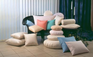 Pillow Cushion From Tibetan Lambskin Mongolian Sheepskin