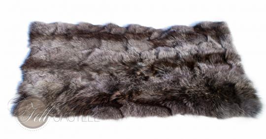 Bettvorleger Coyote Fell Grau 115x60 cm