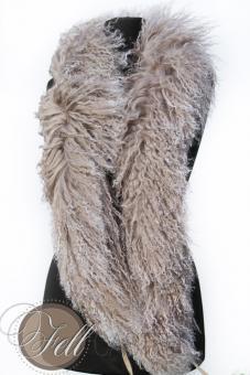 Boa Tibetlamm 150cm - beige mit hellen Spitzen