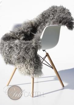 Gotland Sheepskin 105x69 cm grey