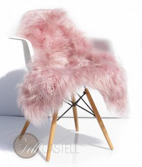 Icelandic Sheepskin Lambskin Baby Pink