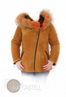 Lambskin hooded Jacket Sheepskin