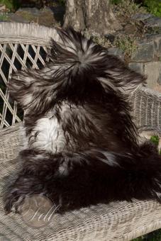 genuine swedish sheepskin natural colors not dyedl 80x55 cm