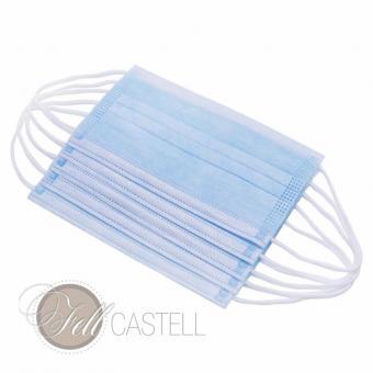 Mundschutz Einwegmaske Medizinische Gesichtmaske OP Maske 100 Stück