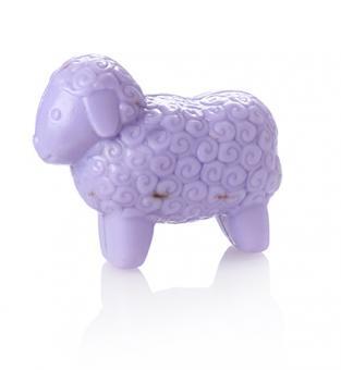 Schafmilch Seife Schafform mollig 100 g im Einzelkarton verschiedene Sorten Lavendel Lavendel