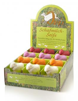 Schafmilch Seife Schafform mollig 100 g lose