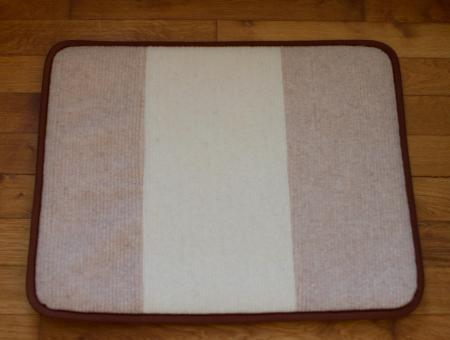 Thermounterlage für Hund aus Wolle 100x70 cm