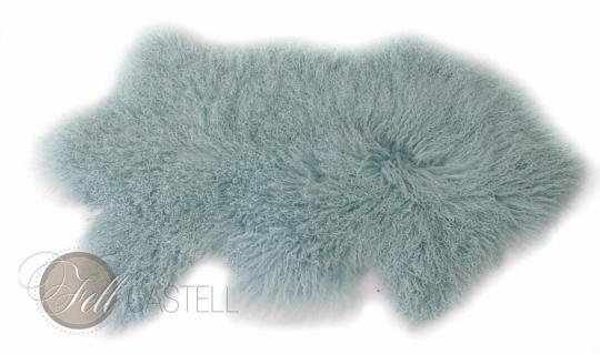 skórka z owcy tybetanskiej Pastell-Turquoise