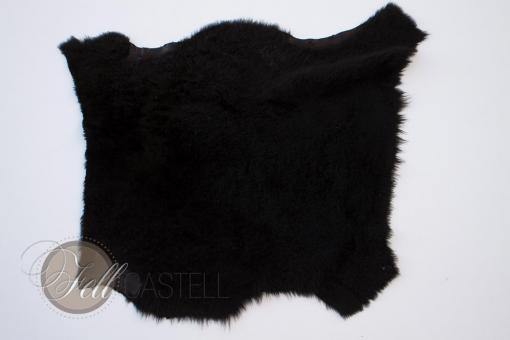 Toscana Lammfell schwarz 56x57 cm