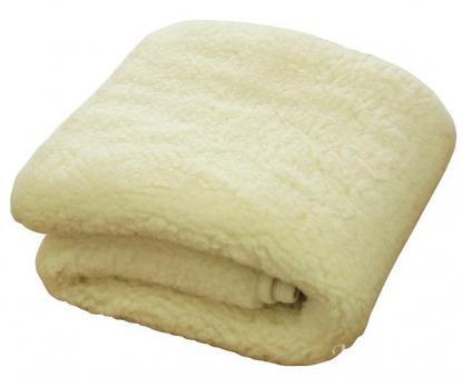 "Wolldecke aus Merinowolle Ivory ""Tumbler"" 200x160 cm"