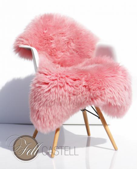 lammfell schaffell rosa rosa 120 cm rosa 120 cm lammfell schaffell shop. Black Bedroom Furniture Sets. Home Design Ideas
