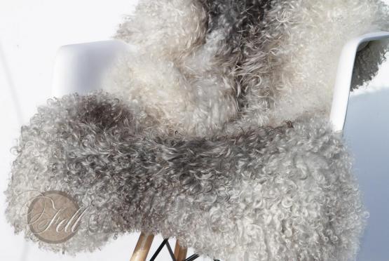 Gotland Schaffell Gotlandfell gelockt 105x70 cm
