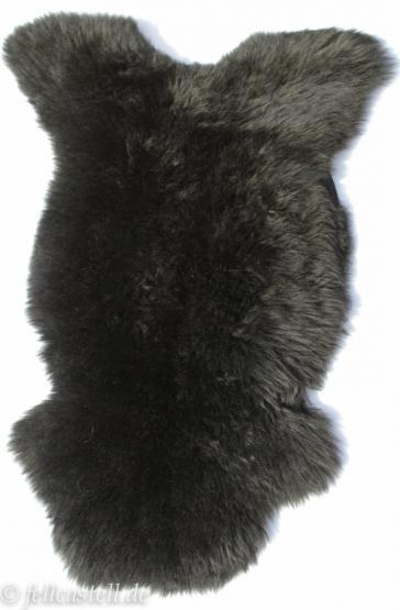 Schaffell | Lammfell schwarz gefärbt 100 x 50 cm