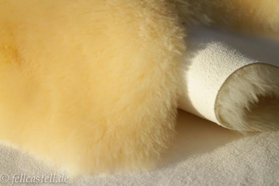 Babyfell Baby Lammfell medizinische Gerbung 105 cm