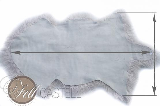 Tibet Lammfell Ivory