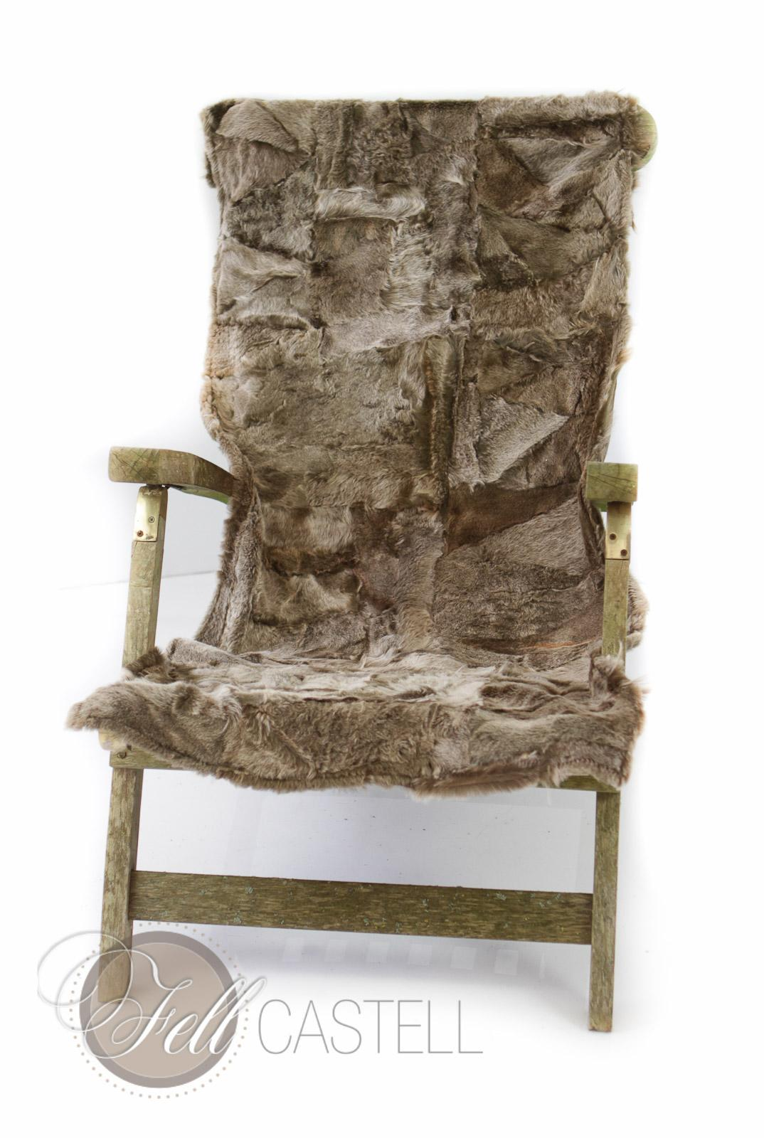 kleine lammfell decke 155x55 cm r ckseite leder taupe brisa lammfell schaffell shop. Black Bedroom Furniture Sets. Home Design Ideas