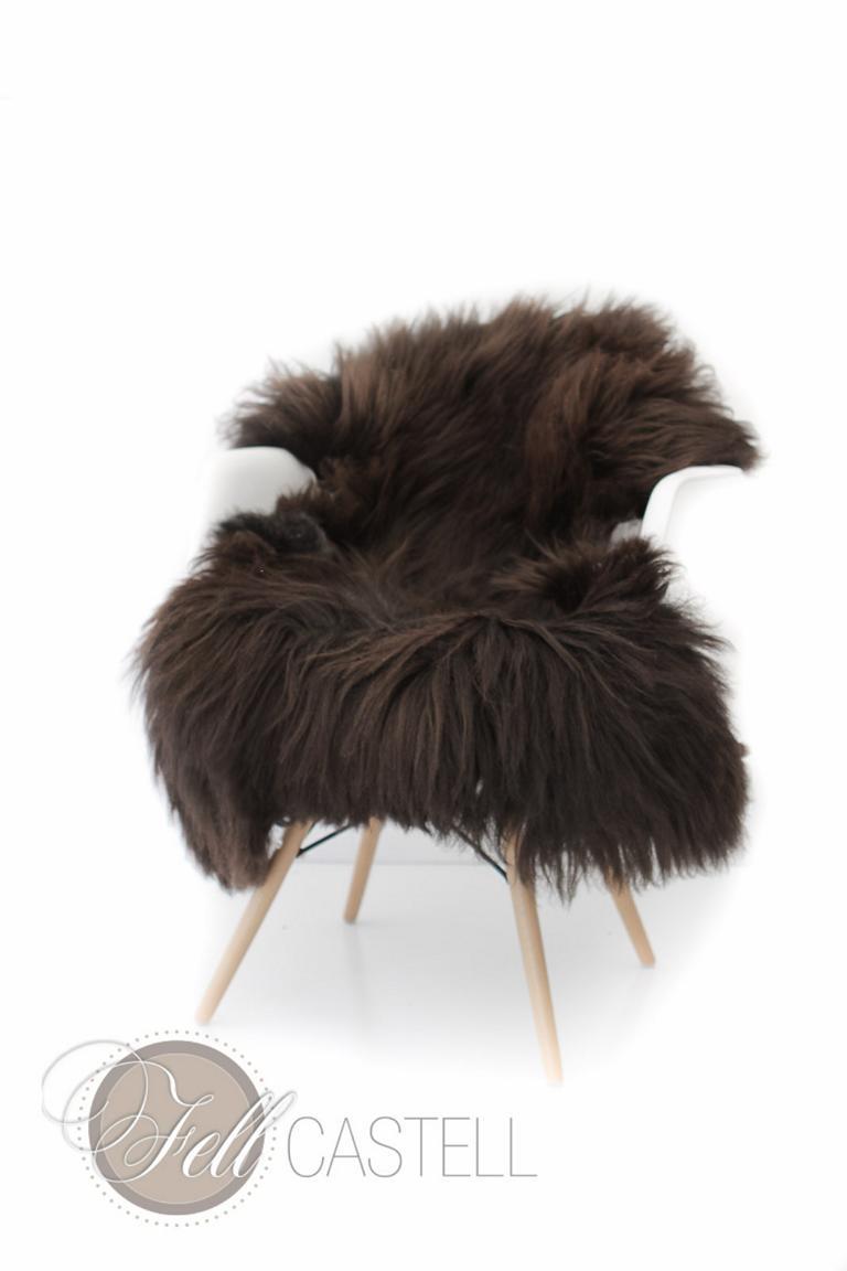 schaffell heidschnucke braun ungef rbt lammfell schaffell shop. Black Bedroom Furniture Sets. Home Design Ideas