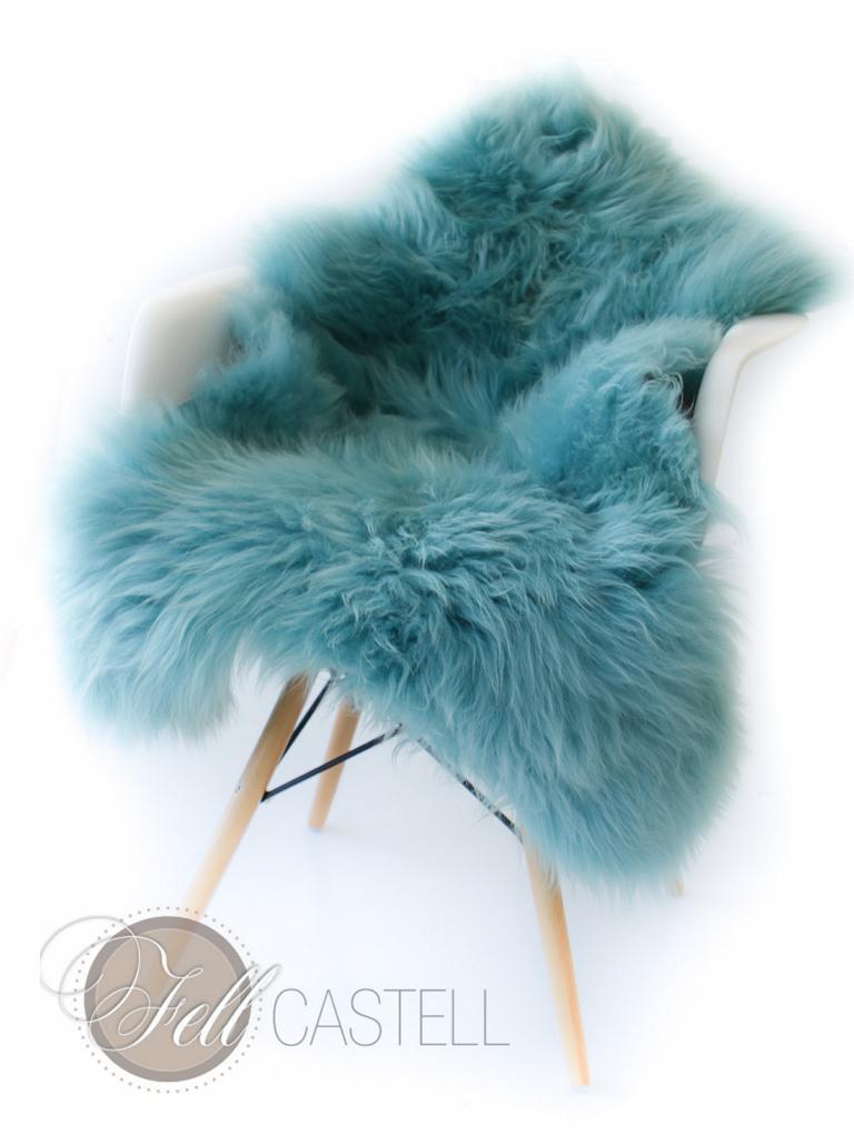 schaffell lammfell pastell t rkis lammfell schaffell shop. Black Bedroom Furniture Sets. Home Design Ideas