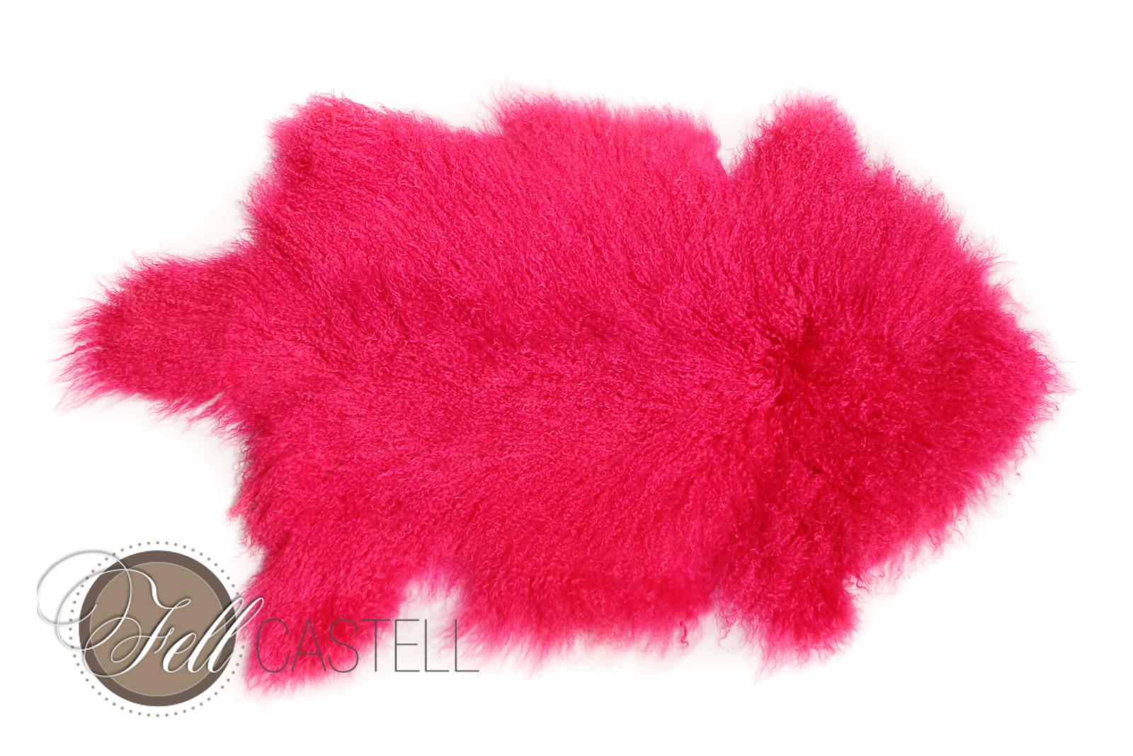 Tibet Lammfell Pink Yarrow