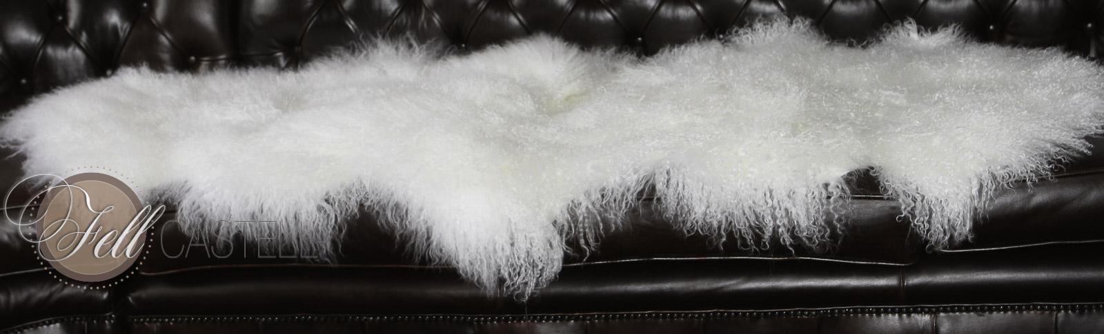 tibet lammfell teppich schnee weiss tibetlamm decke 2 felle 2 felle lammfell schaffell shop. Black Bedroom Furniture Sets. Home Design Ideas