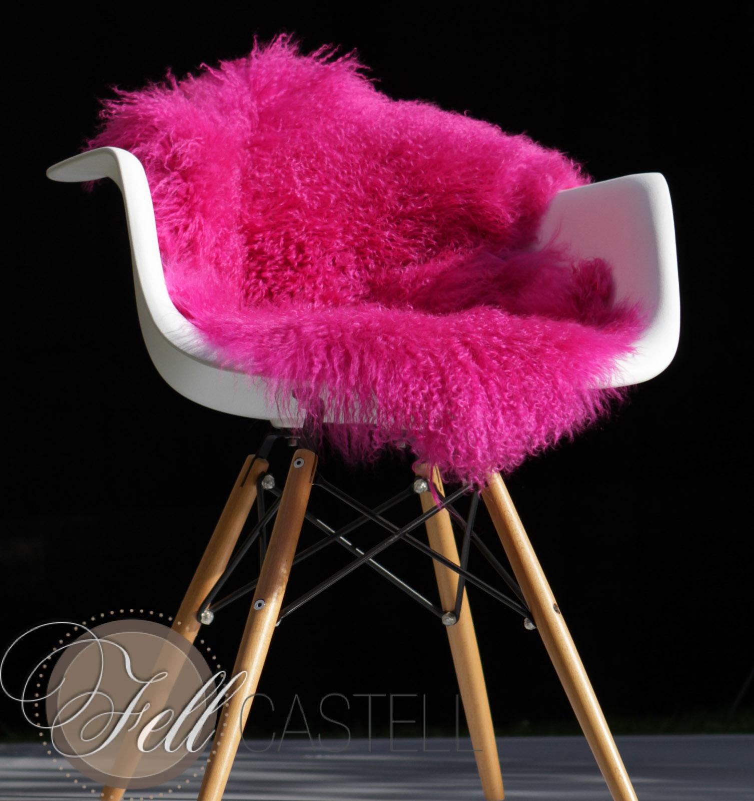 tibetlammfell hot pink 100 cm mongolisches lammfell lammfell schaffell shop. Black Bedroom Furniture Sets. Home Design Ideas