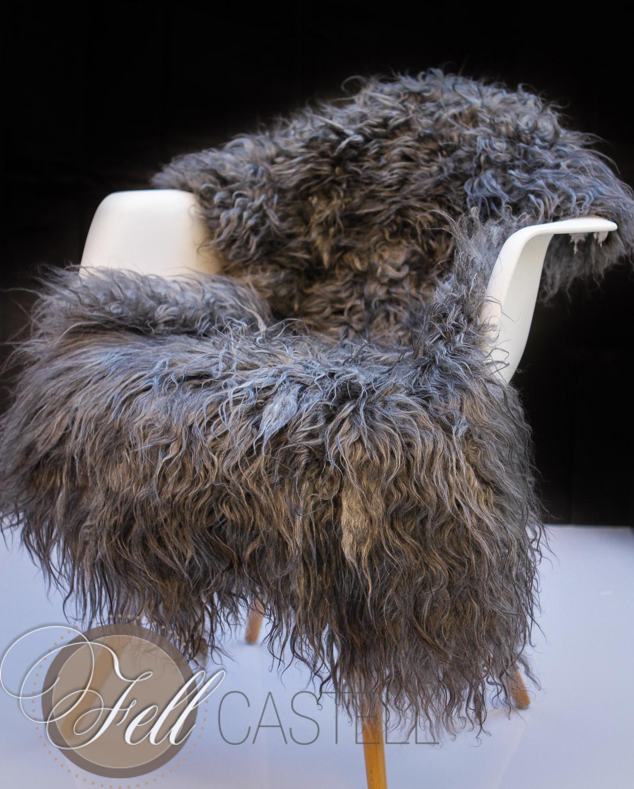gotland schaffell gotlandfell lange locken 120 x 66 cm 16 lammfell schaffell shop. Black Bedroom Furniture Sets. Home Design Ideas