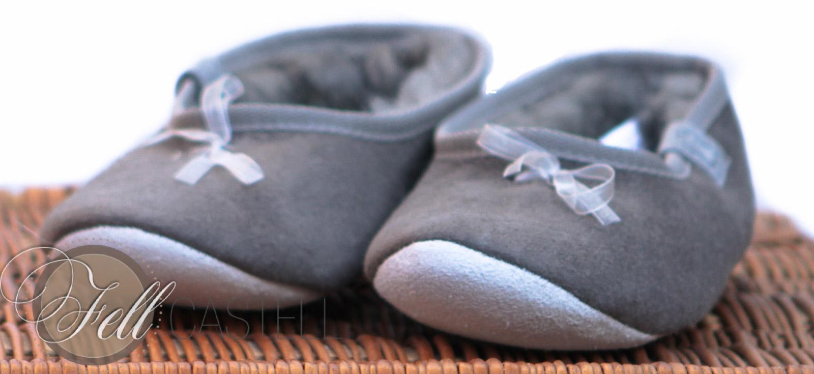 lammfell hausschuhe ballerinas grau lammfellschuhe damen grau gr 40 grau gr 40 lammfell. Black Bedroom Furniture Sets. Home Design Ideas