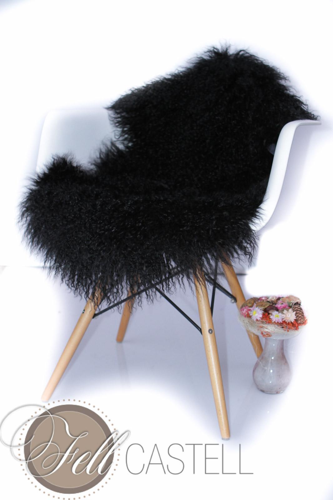 tibet lammfell schwarz tibetlammfell tibetlamm fein gelockt 100 x 50 cm 100 x 50 cm lammfell. Black Bedroom Furniture Sets. Home Design Ideas