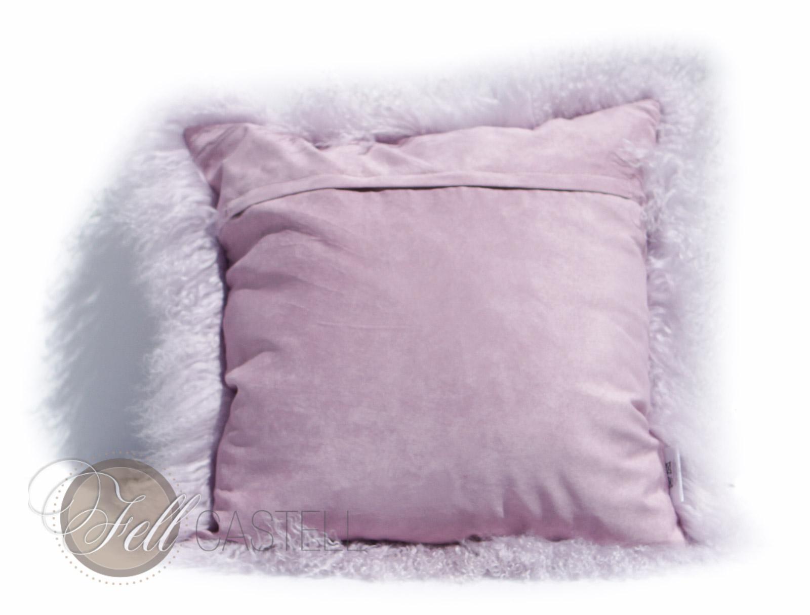 kissen tibetlammfell 40 x 40 cm lavender fog fellkissen. Black Bedroom Furniture Sets. Home Design Ideas