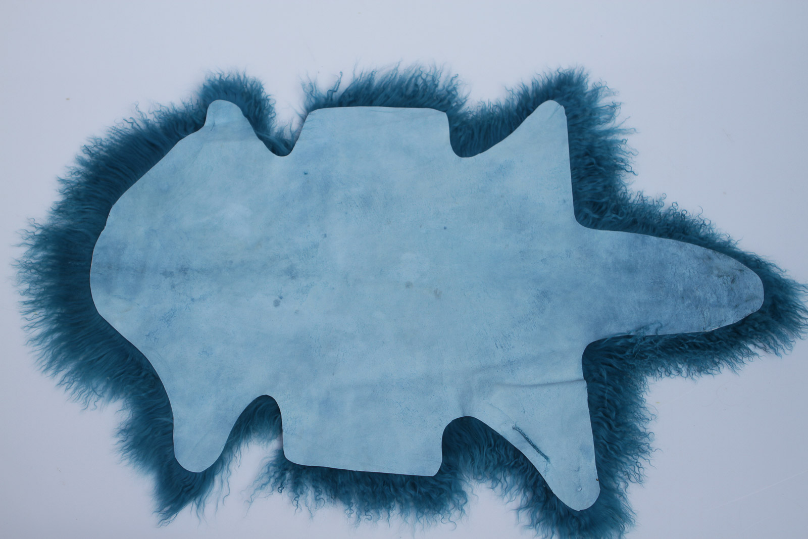 Tibet Lammfell Tibetlammfell Petrol 100 x 50 cm Petrol | 100 x 50 cm
