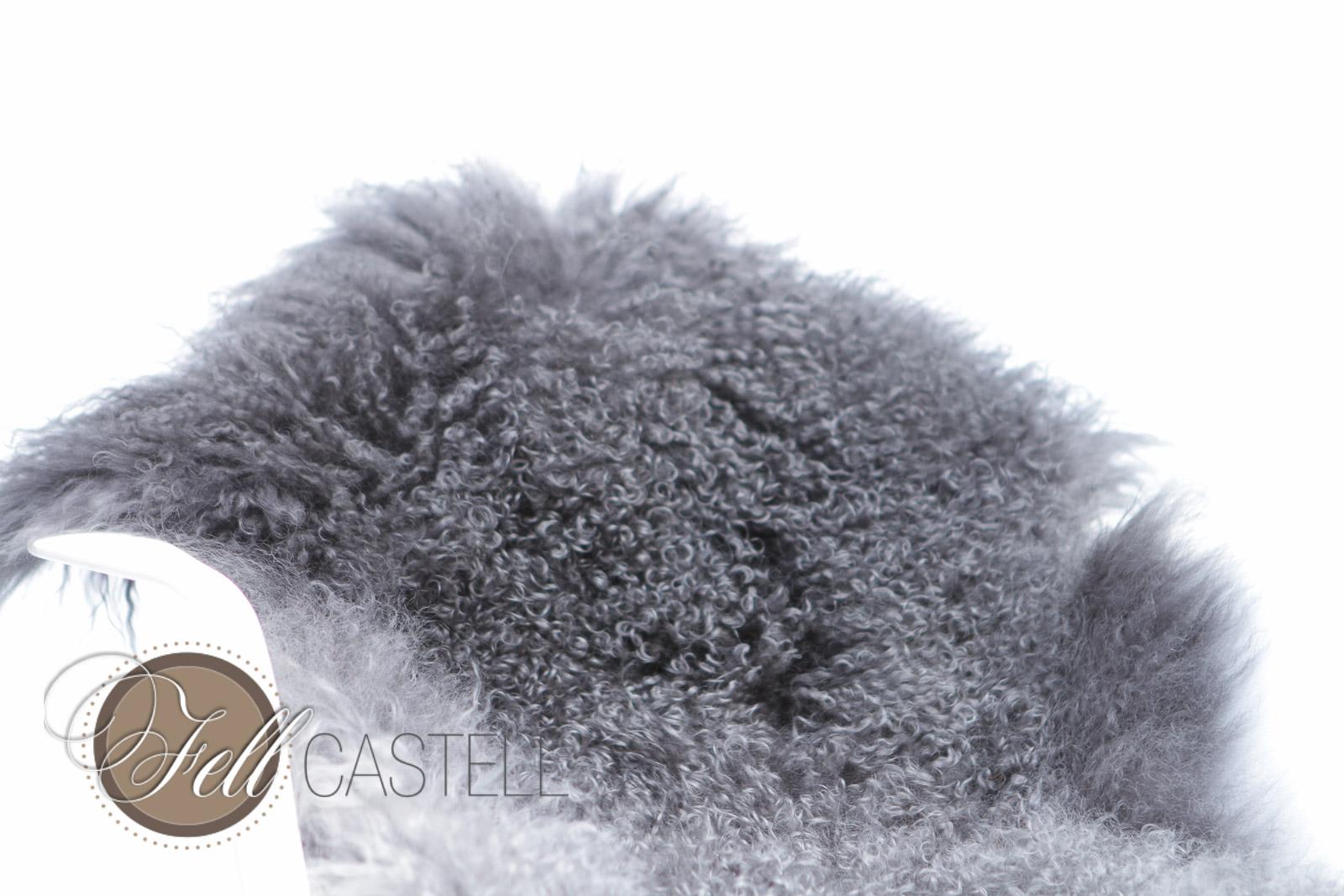 Tibet Lammfell gradient Grey Gradient 90 x 45 cm