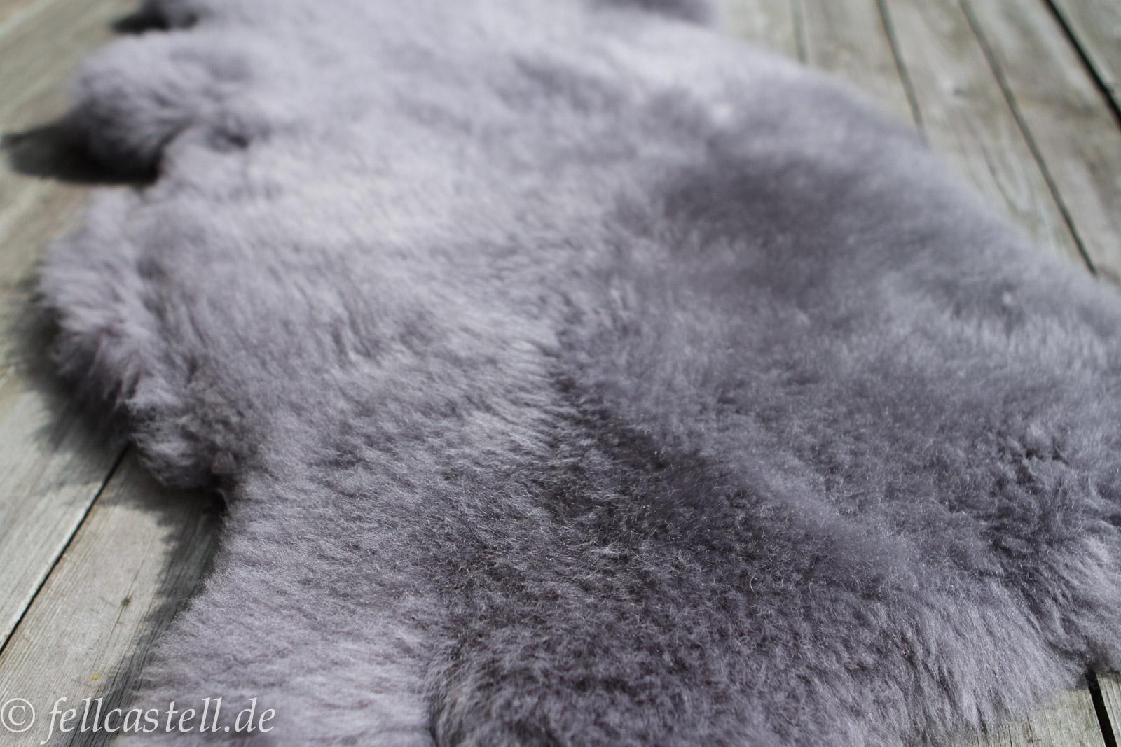 Lammfell | Schaffell Grau