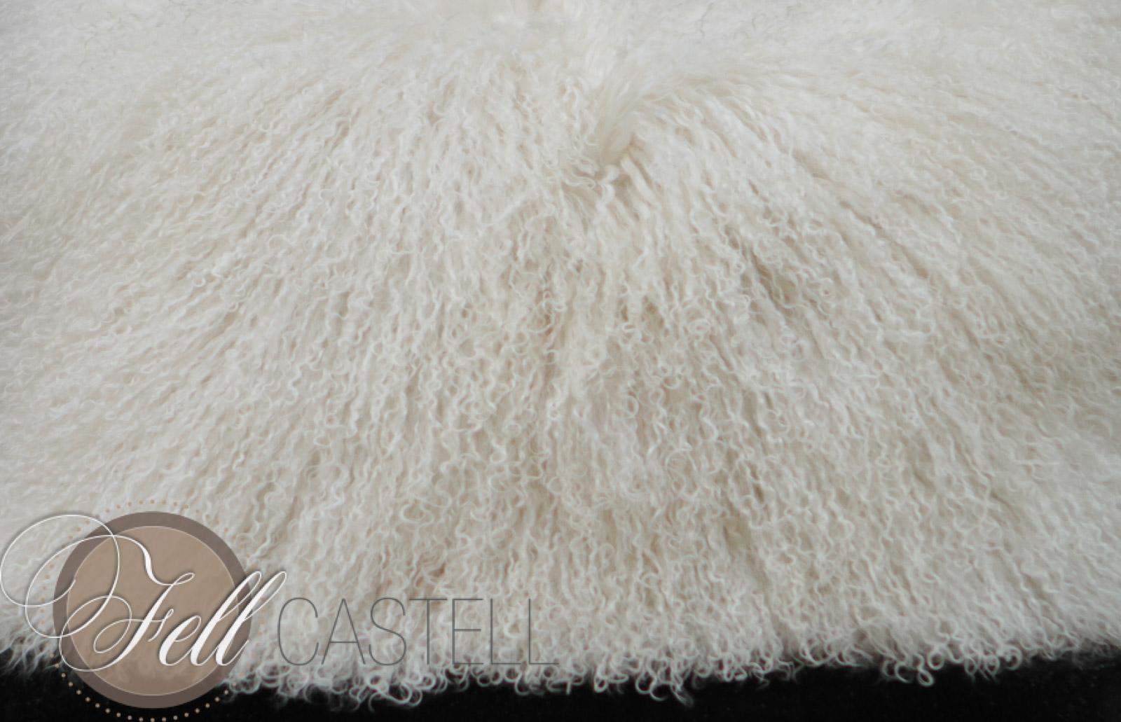 Tibetan Lambskin Ivory 1,5 Skins