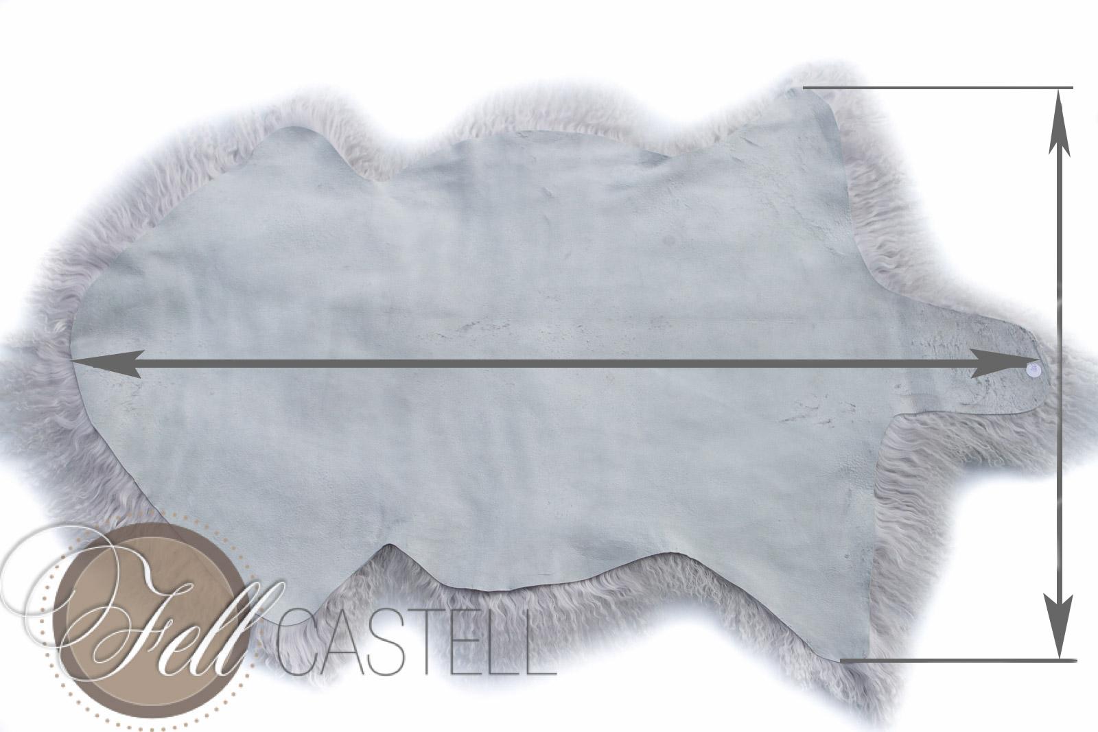 teppich tibet lammfell silbergrau decke tibetfell grau mit weissen spitzen lammfell. Black Bedroom Furniture Sets. Home Design Ideas