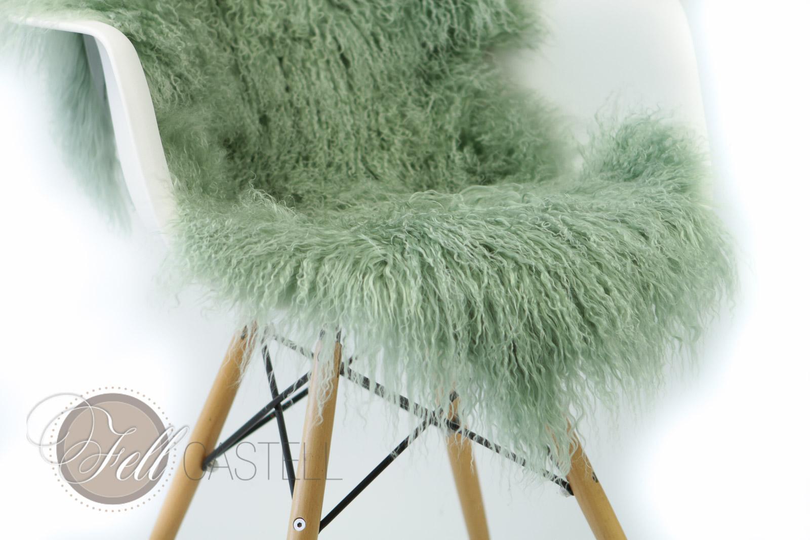 tibet lammfell smoke green tibetfell tibetlammfell lammfell schaffell shop. Black Bedroom Furniture Sets. Home Design Ideas