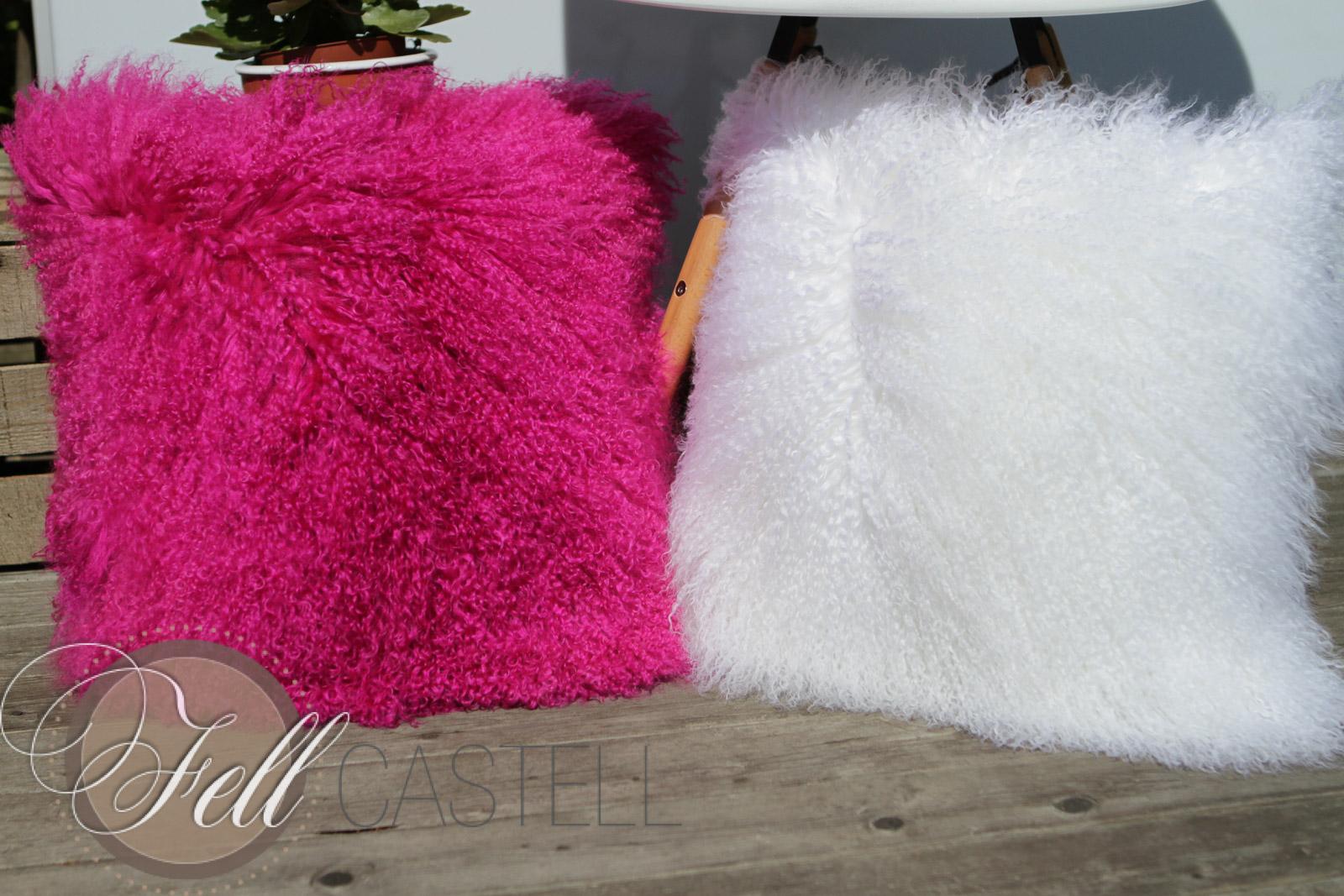 tibetlamm kissen schnee weiss 50 x 50 cm wei 50 x 50 cm lammfell schaffell shop. Black Bedroom Furniture Sets. Home Design Ideas