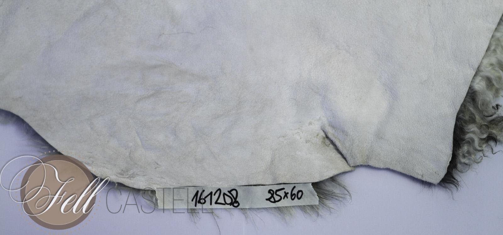 Gotland Schaffell 85 x 60 cm Gotlandfell gelockt